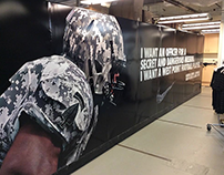 Army Football Equipment Room Graphics