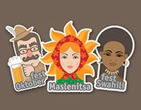 Fest icons-set for EventSide
