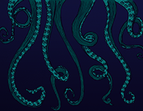 Octopus Skirt - Pattern Design and Sewing
