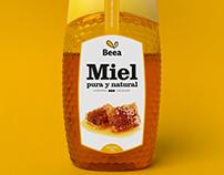 Beea Miel - Identidad y Packaging