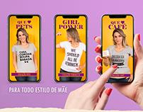Campanha de Dia Das Mães - Mitou Camisetas