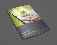 Annual Report Brochure Template - 24 Pages