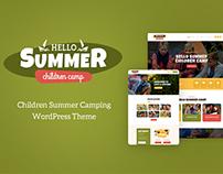 Hello Summer | Children's Camp WordPress Theme