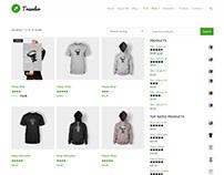 Shop Header Page - Traveler WordPress Theme