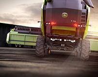 Harvest Combine John Deere S700