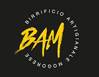 BAM - Birrificio Artigianale Mogorese - brand identity