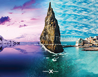 """Celebrity Cruises """"Sail On Both Sides"""" Brochure Concept"""