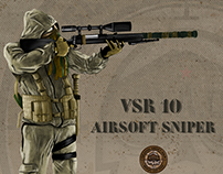 VSR 10 Airsoft Sniper