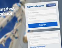corporize.com Re-Design