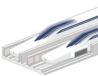 SCMAGLEV Technical Illustrations
