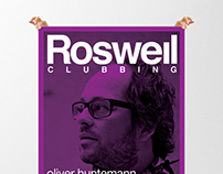 Roswell Club (logo & posters)