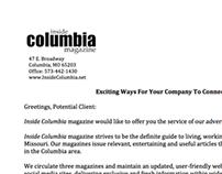 Inside Columbia Magazine - Writing Samples