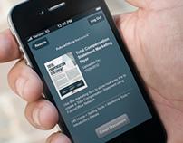 FutureOffice Network Search & Send iPhone App