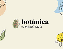 rebrand e identidade visual | botânica do mercado