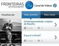 Site Mobile Fronteiras.com (2013)