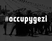 Tipografik #occupygezi hatıraları