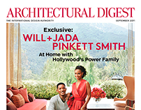 Architectural Digest Covers