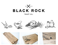 Black Rock Beef co. || Packaging Design