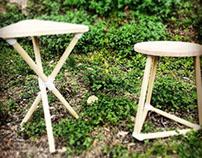 3D printed stools