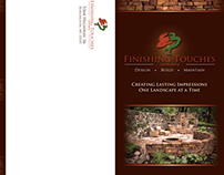 Finishing Touches Tri-Fold Brochure