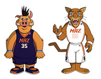 Northern Arizona Suns Mascot designs