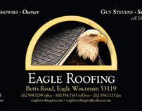 Eagle Roofing Business Card