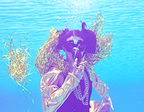 identity magazine underwater fashion shoot