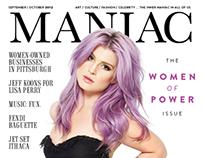 Maniac Magazine - Cover Story