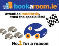 Bookaroom Advert Design