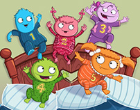 5 Little Monsters - Scholastic