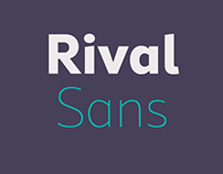 Rival Sans & Rival Sans Narrow