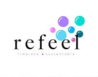 Refeel - Logo, visual identity and communication design