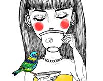 I hope you love birds too.