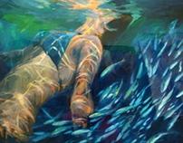 Stirring Water Spirits