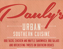 Pauly's Urban Southern Cuisine