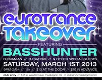 Basshunter Gig Poster