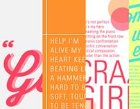 Wisdom Script & Univers Typeface Sampler