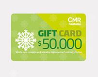 Tarjetones Giftcard para CMR