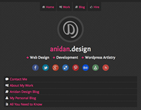 Anidan Design Responsive Re-Design