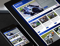 Smith Triumph BSB Racing Team - Web Design