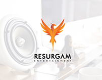 Resurgam Entertainment Branding