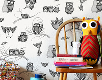 Wallpaper Owls