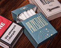 Cigarettes pack repackaging design for PTNS