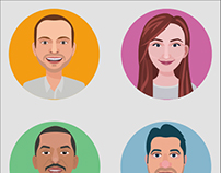 Avatar Series V1 - People Avatars for Web & Apps