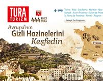 Tura Turizm Landing Page