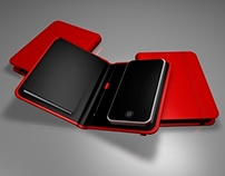 3D iPhone Leather Diary