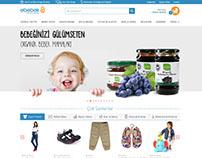 ebebek.com eCommerce Homepage UX/UI redesign