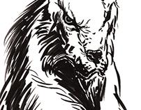 Ink Brush Multiliner - Sketches & Illustrations