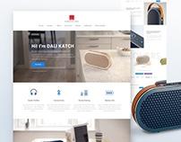Dali Katch | Product Landing Page
