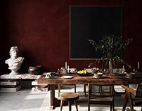 Belgium residence / Wabi Sabi styling / 3D